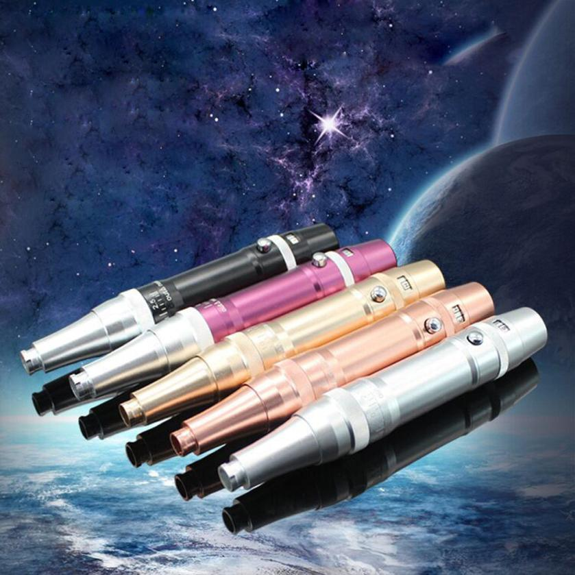 US Plug Eyebrow Tattoo Pen Kit Permanent Makeup Machine Make up Equipment Tatto Gun Set tattoo permanent eyebrow makeup machine professional permanent makeup tattoo eyebrow pen machine 50 needles tips power supply set us plug drop shipping wholesale