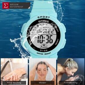 Image 3 - PANARS moda bayanlar saatler erkek kız öğrenciler dijital spor kadın izle 50m su geçirmez kol saati çalar Relogio Feminino