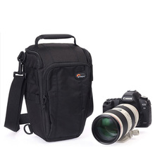 Lowepro Toploader Zoom 55 AW Digitale SLR Camera Driehoek Schoudertas Regenhoes Draagbare Taille Case Holster Voor Canon Nikon