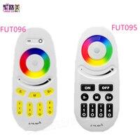 미 라이트 2.4G 4 영역 FUT095 FUT096 RGB RGBW LED 컨트롤러 버튼/터치 RF 무선 원격 MiLight LED 전구 스트립 램프 빛