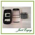 Novo Telefone Casse Para Nokia Asha 302 Houisng Tampa Da Caixa Completa Com Teclado + Ferramentas Frete Grátis Cor Preta