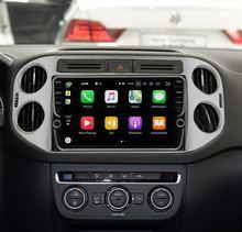 10 «4 ram 64 rom Android 8,1 Автомобильная dvd-навигационная система мультимедийный плеер для VW Tiguan 2010-2015 32EQ DSP 4G слот для sim-карты опционально