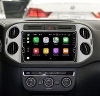 10 4 RAM 64 ROM Android 8.1 Car DVD GPS Navigation Multimedia Player For VW Tiguan 2010 2015 32EQ DSP 4G SIM Card Slot Optional