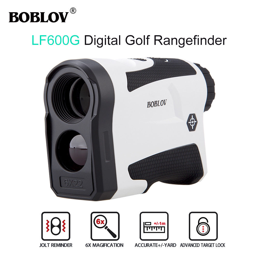 BOBLOV LF600G 600M Telescope Golf Laser Range finder 6X Jolt Reminder hunting Scope RangeFinder Distance Speed Measure Flag Lock boblov 600m multifunction 6x laser range finder monocular telescope for hunting golf distance camo rangefinder free shipping