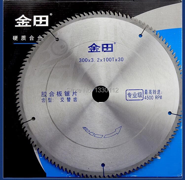 Free shipping 12 300x3.2x100Tx25.4/30 wood cutting saw blade for chipboard shaving board with other sizes of saw blades no 1 twist plaster saws jewelry spiral teeth saw blades cutting blade for saw bow eight kinds of sizes 144 pcs bag