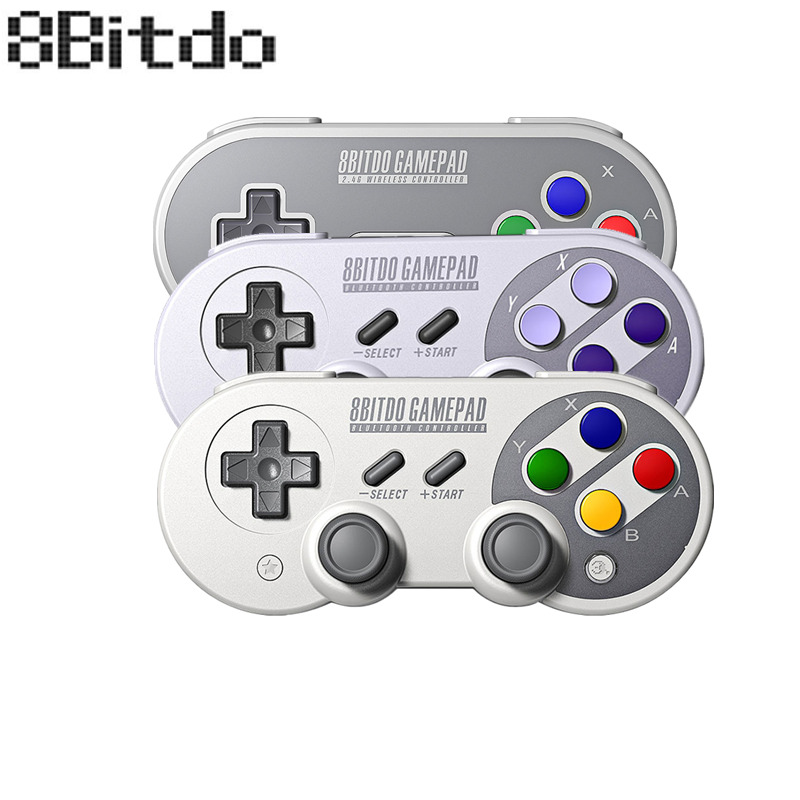 Official 8BitDo SF30 Pro Wireless Bluetooth Gamepad Controller with Joystick for Windows Android macOS Nintendo Switch Steam(China)