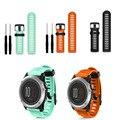 MAHA For Garmin Fenix 3 HR Soft Silicone Strap Replacement Wrist WatchBand+Tool Kits Orange/Green 2/Black