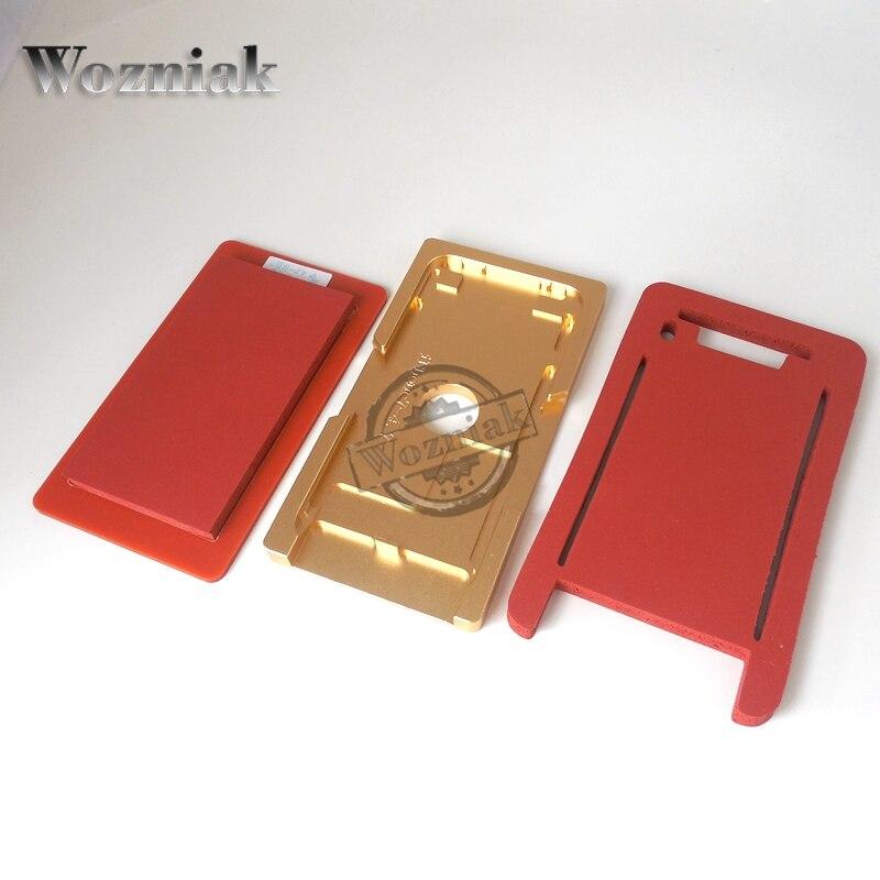 bilder für Wozniak glas mit rahmen form für iphone 5g/6g/6 s präzision aluminium mold für oca laminiermaschine