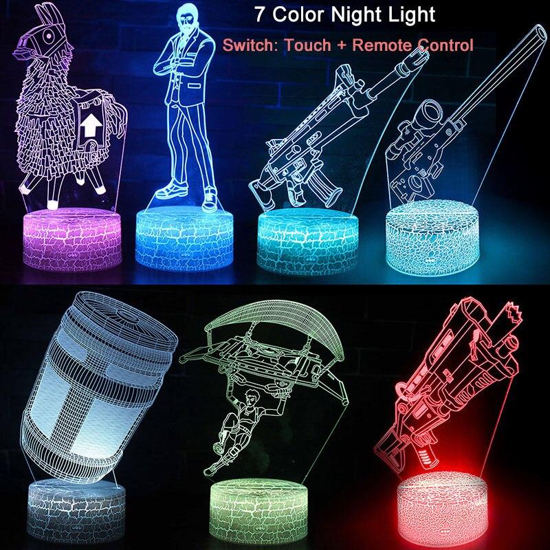 Batalla de Control remoto LED lámpara de proyección de quince días de fiesta niños dormitorio noche Luz Decoración regalos de navidad