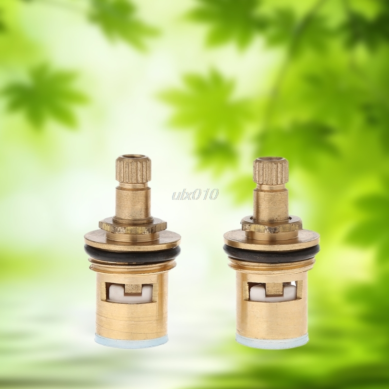 2Pcs Faucet Replacement 1/4 Turn G1/2