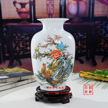 Modern fashion decoration white ceramics vase