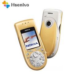 3650 100% Оригинальный разблокированный телефон Nokia 3650, 2,1 дюйма, GSM 2G Symbian 6,1, мобильный телефон с гарантией на один год, бесплатная доставка
