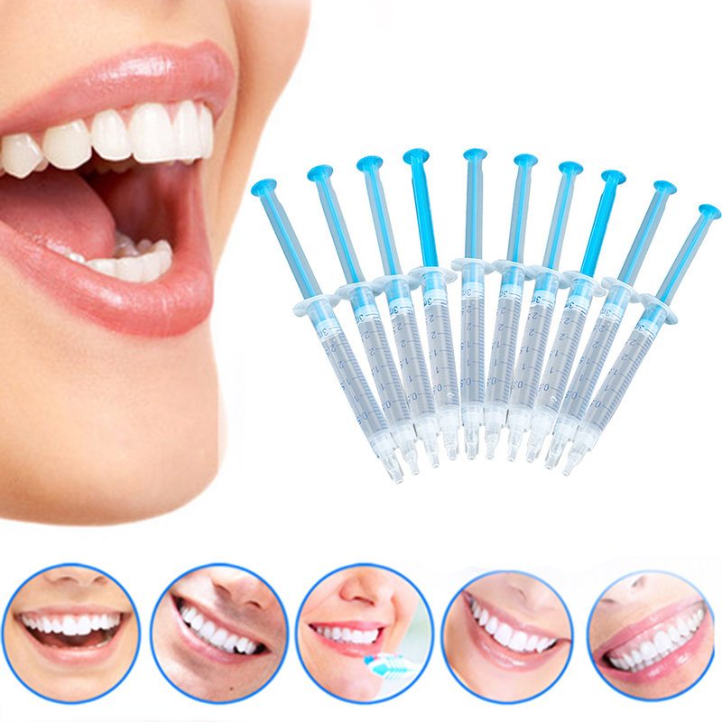 1PCS Whitening Agent Cold Light Tooth Whitening Gel Oral Hygiene Care Bleach Gel Dental Teeth Whitener