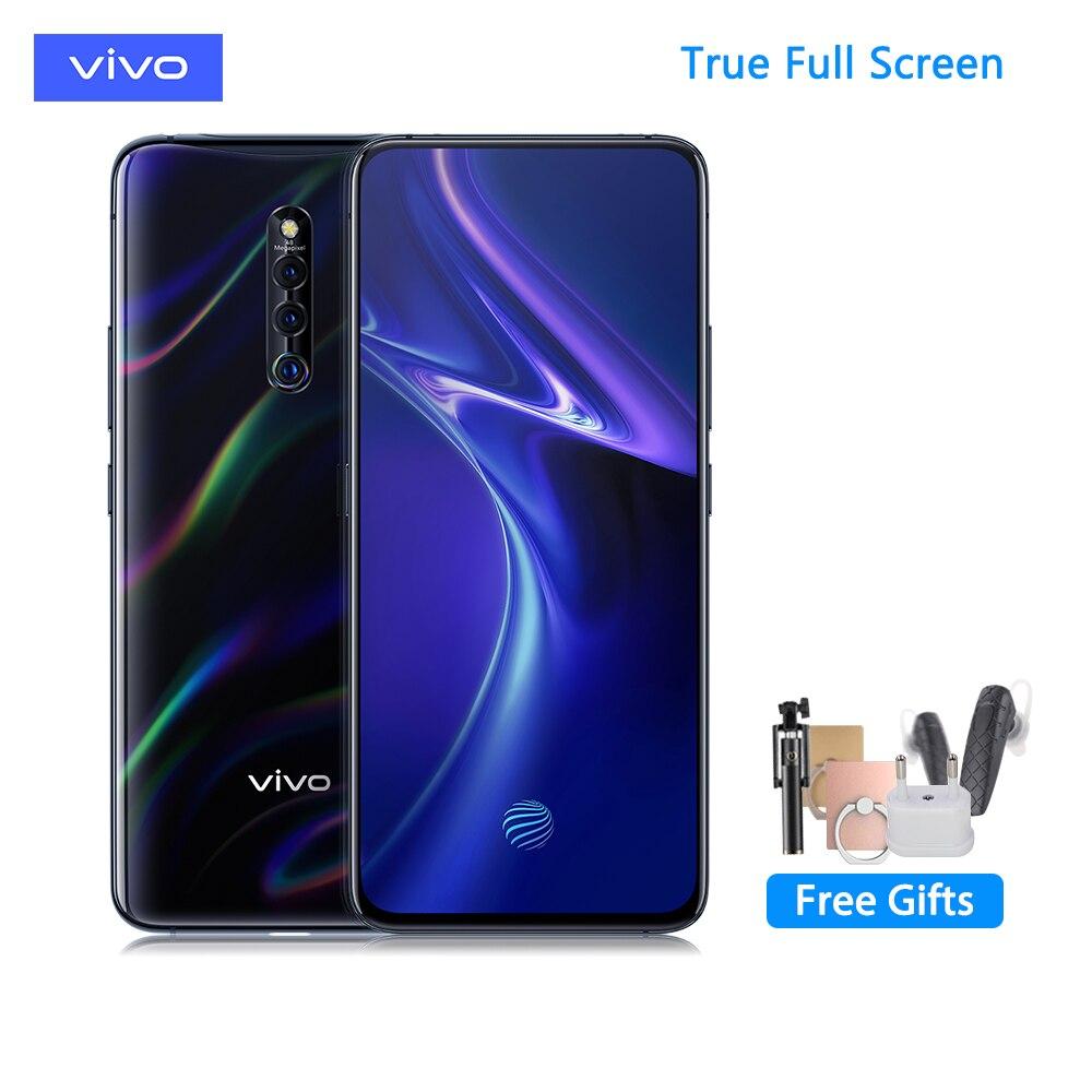 vivo X27Pro 6.7inch Mobile Phone SMD710 32.0MP Elevating Amazing Camera 4000mAh Big Battery 8GB+256Full Screen Cellphone