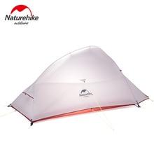 2018 Новый CloudUp обновлен 2 человек NatureHike палатка 20D силиконовая ткань двухслойная палатка легкий NH17T001-T