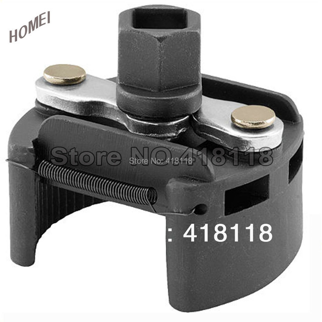 Professional Quick Release 60-80mm Adjustable Oil Filter Wrench U type Oil Filter Removal Spanner
