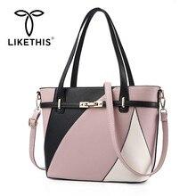 LIKETHIS 2019 New Women Zipper Shoulder Bags Female Handbags Ladies Messenger Crossbody Bag Hot Sale Shopping For Girl Tote