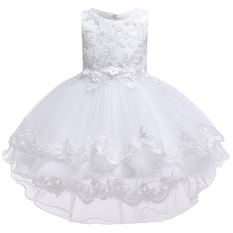 HTB1Z8BFe21H3KVjSZFBq6zSMXXaP - Kids Princess Dresses For Girls Clothing Flower Party Girls Dress Elegant Wedding Dress For Girl Clothes 3 4 6 8 10 12 14 Years