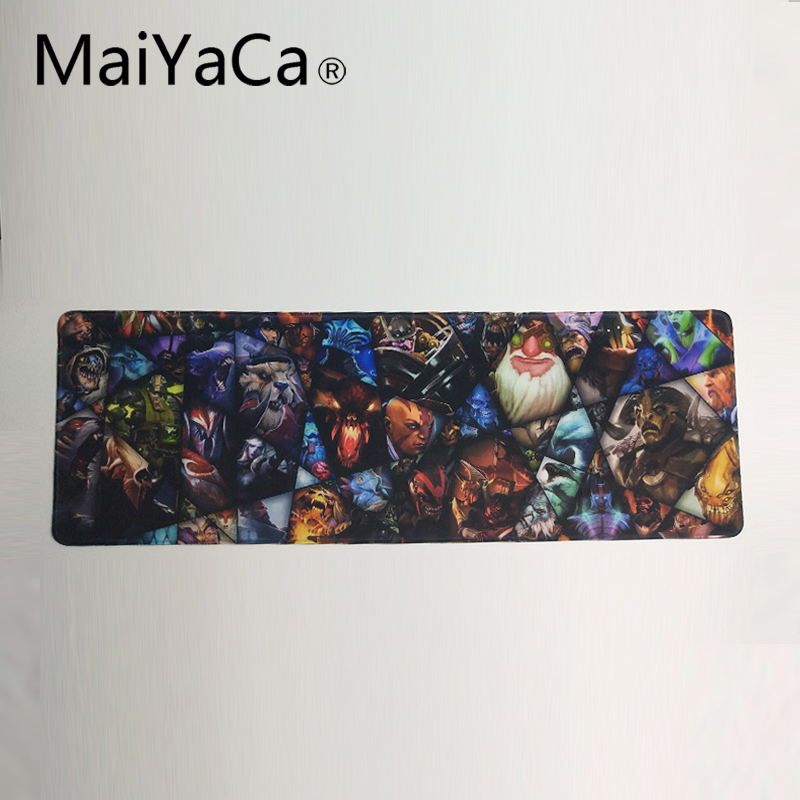 MaiYaCa DoTA 2 Mouse Pad Ultimate Gaming Mousepad Natural Rubber Gamer Mouse Mat Pad Game Computer Desk Pad Mouse Play Mat недорго, оригинальная цена