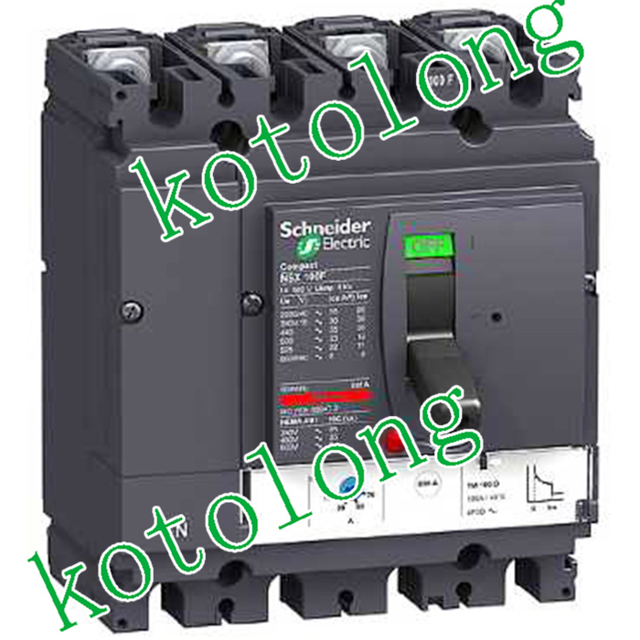 Compact NSX160H TMD 4P LV430680 4P 160A LV430681 4P 125A LV430682 4P 100A LV430683 3P 80A new 31624 circuit breaker compact ns250n tmd 100a 3 poles 2d