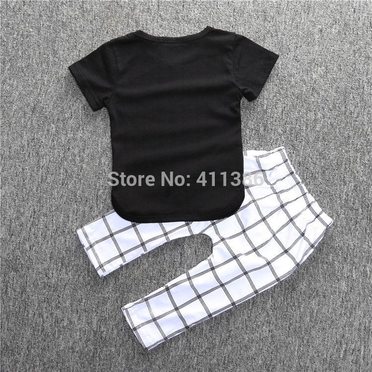 ST189 2017 Nowa dziewczyna przyjazdu i chłopców ubrania ustawić długi rękaw + Spodnie sowa wzór zestaw noworodka ubrania dla dzieci garnitur dzieci odzież 56