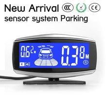 New Arrival Car reversing sensor system Parking assist with6/8 sensors Back and front view Car parking sensor A07-8