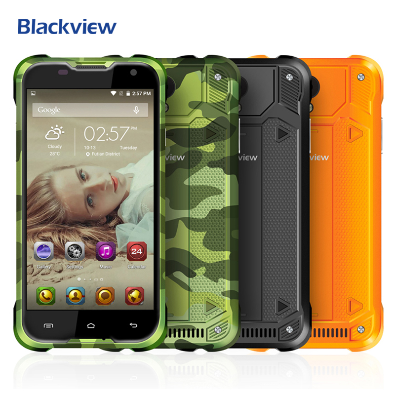 Blackview BV5000 Mobile Phone 5 inch 1280x720 HD MTK6735 Quad Core Android 6 0 2GB RAM