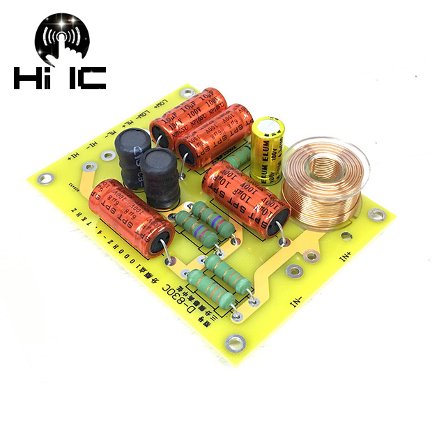 1pcs /2pcs Updated New Multi Speaker 3 Unit Audio Frequency Divider 3 Way Crossover Filters