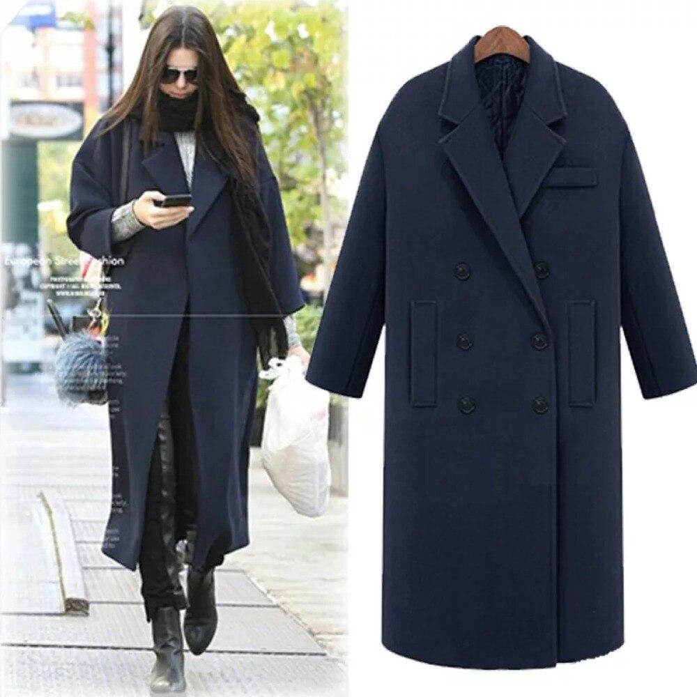 14017e6de99 Женская новая мода осень и зима Утолщаются custom fit пальто для будущих  мам и тренчи с