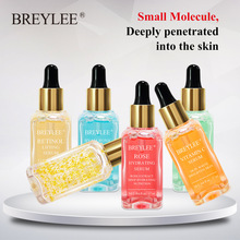 BREYLEE Serum Series Hyaluronic Acid Vitamin C Whitening Face Skin Care Rose Nourish 24k Gold Firm Soothing Repair Essence !