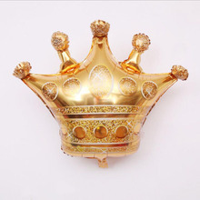 AVEBIEN 30 inch Golden Crown Foil Balloons Wedding Birthday Party Decoration DIY Kids Toys Grand Event Supplies