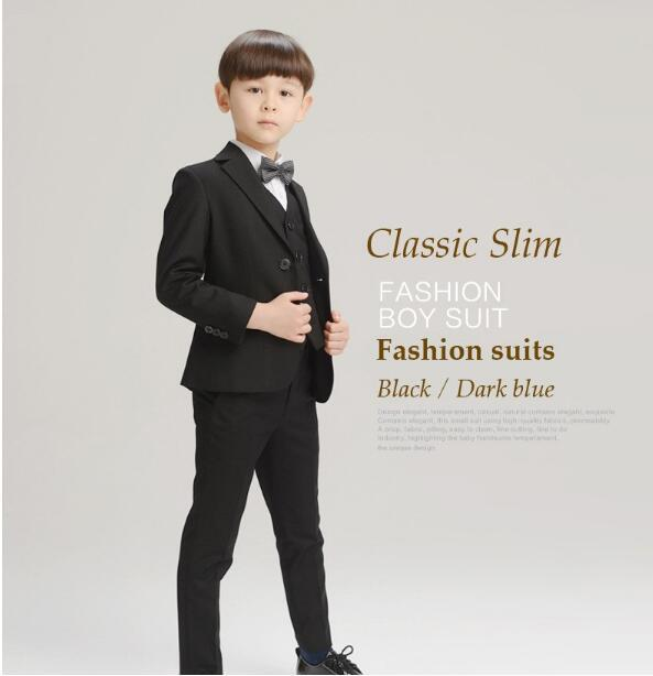 163b04bf0 2017 New Boys Formal Suits for Weddings Brand England Style 3 14T ...