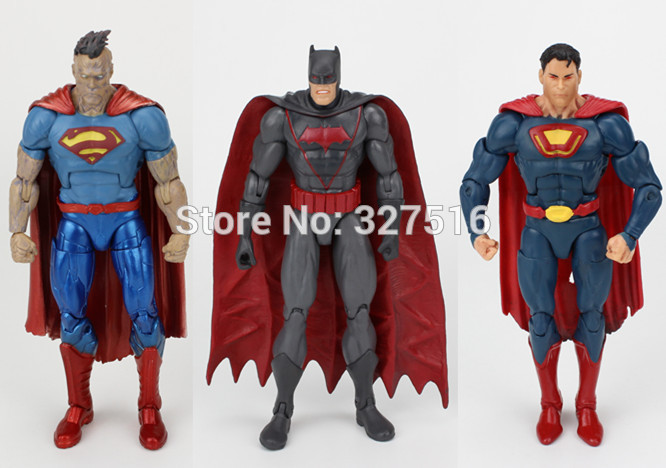 Best Superman Toys And Action Figures For Kids : The genuine figures toy anime new justice league