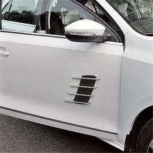Salida de aire decorativa para coche, simulación de coche, SantaFe para Hyundai, Veracruz, Mistra, Tucson, Veloster, Rohens, AZERA, Avante, IONIQ