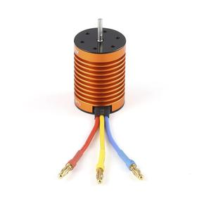 Image 5 - OCDAY 9T 4370KV 4 poles Sensorless Brushless Motor with 60A Electronic Speed Controller Combo Set for 1/10 RC Car and Truck