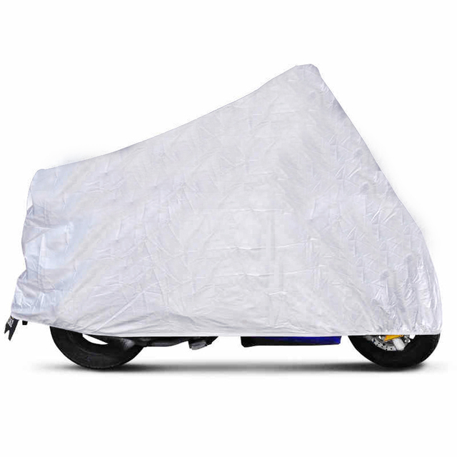 Big Size Motorcycle Cover XXL Waterproof Outdoor UV Protector Bike Rain Dustproof,Covers for Motorcycle, Motor Cover Scooter
