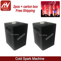 mini cold spark machine wedding party cold stage fireworks spark fountain machine