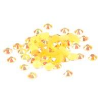 Смола Стразы оранжевый AB 2 мм 2.5 мм 3 мм 4 мм 5 мм 6 мм 10000-50000 шт. блеск клей на Бусины DIY 3D Гвозди Книги по искусству Интимные аксессуары