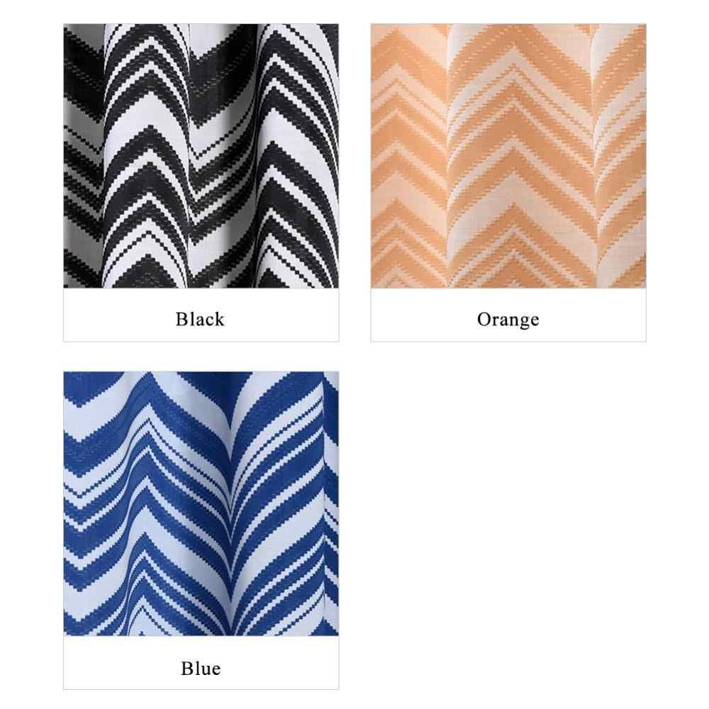 NAPEARL 1 шт. волнистые струны жаккардовые капли Короткие шторы для гостиной кухни оконная лента современный дизайн нить ткань матч