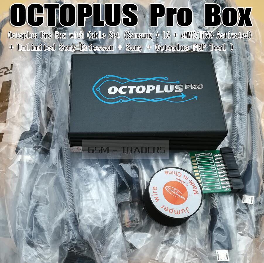 Octoplus Box Pro avec Câble/Adaptateur Ensemble (Activé pour Samsung + LG + mem/JTAG + Illimité sony Ericsson + Sony + Octoplus FRP