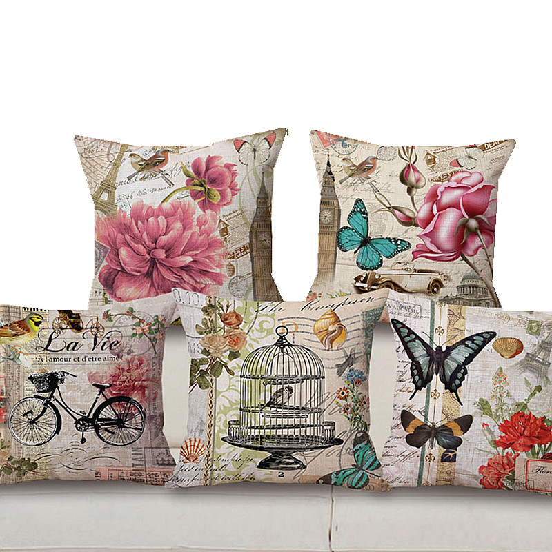 Aliexpress.com : Buy Wholesale Vintage Butterfly Pillow