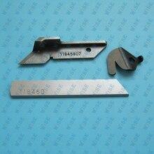 JUKI 2516 UPPER LOWER CHAINCUTTER 3 KNIFE SET