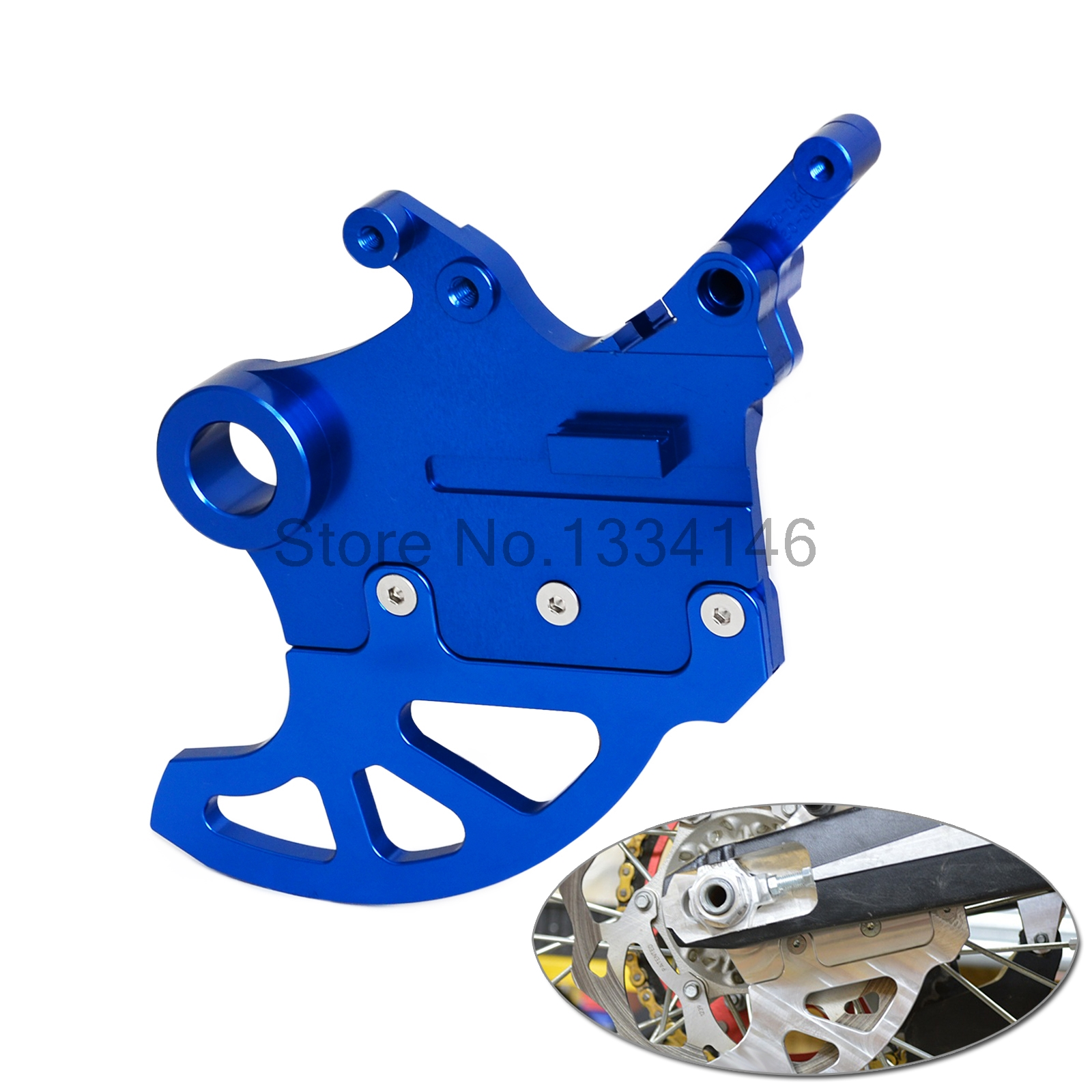 NICECNC Aluminum CNC Rear Brake Disc Rotor Guard Protector Cover For Yamaha YZ250F YZ450F 2009-2013 2014 2015 YZ 250F 450F motorbike scooter cnc aluminum alloy rotatable spinable cooling fan cap cover protector guard for yamaha bws x 125 cygnus 125