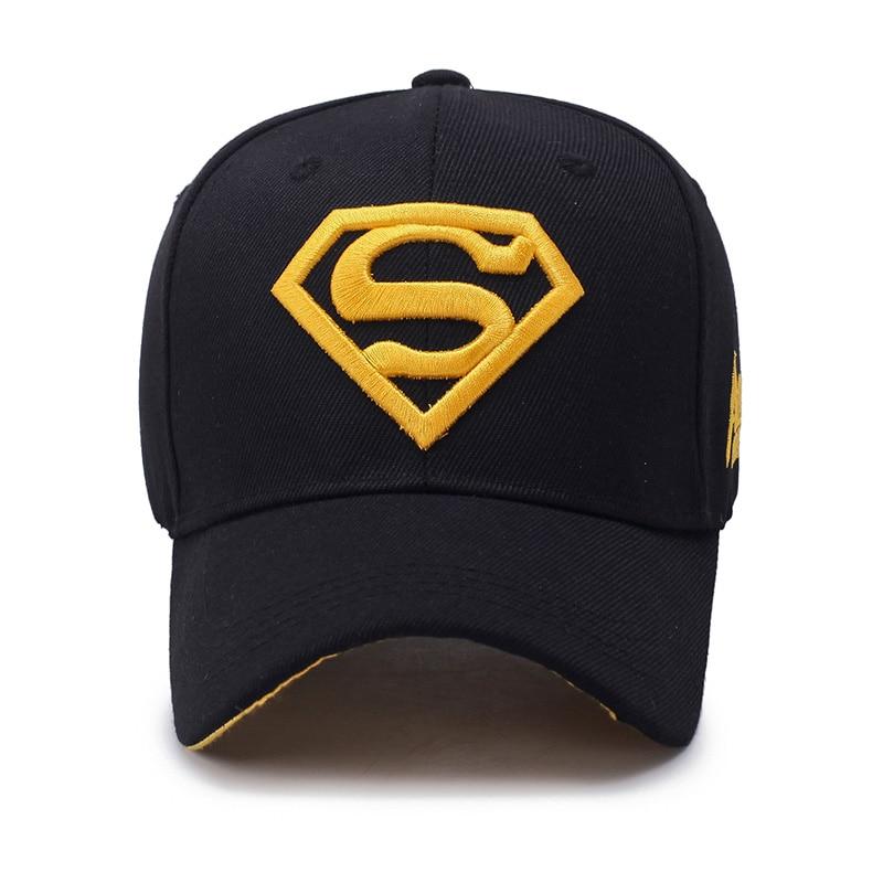 05b7844e61d5a 2018 Gorras Superman Cap Casquette Superman Baseball Cap Men Brand Women  Bone Diamond Snapback For Adult Trucker Hat-in Baseball Caps from Apparel  ...