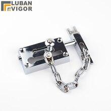 Высокий уровень безопасности цинковый сплав Анти-Вор дверной замок цепи, 16 см цепи дверные пряжки, защита семьи