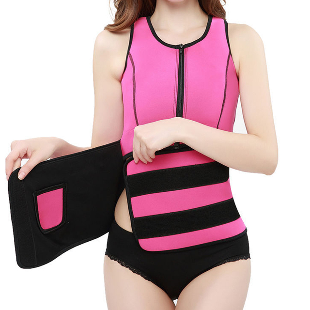 Women Hot Sweat Body Vest Neoprene Slimming Vest Body Shaper