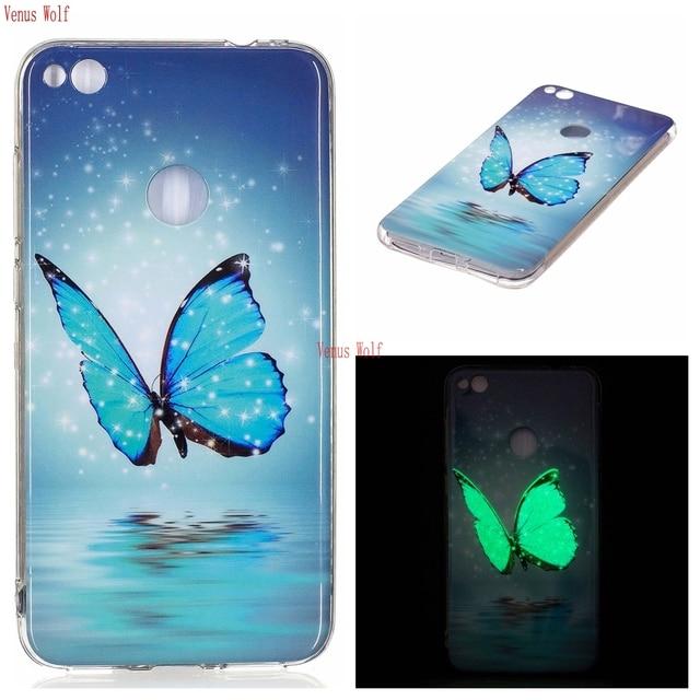 Soft TPU Case  for Huawei P9 Lite 2017 PRA-LX1 PRA-LA1 Luminous Phone Case for Huawei P 9 Lite P9Lite 2017 PRA LA1 LX1 LX2 Bag