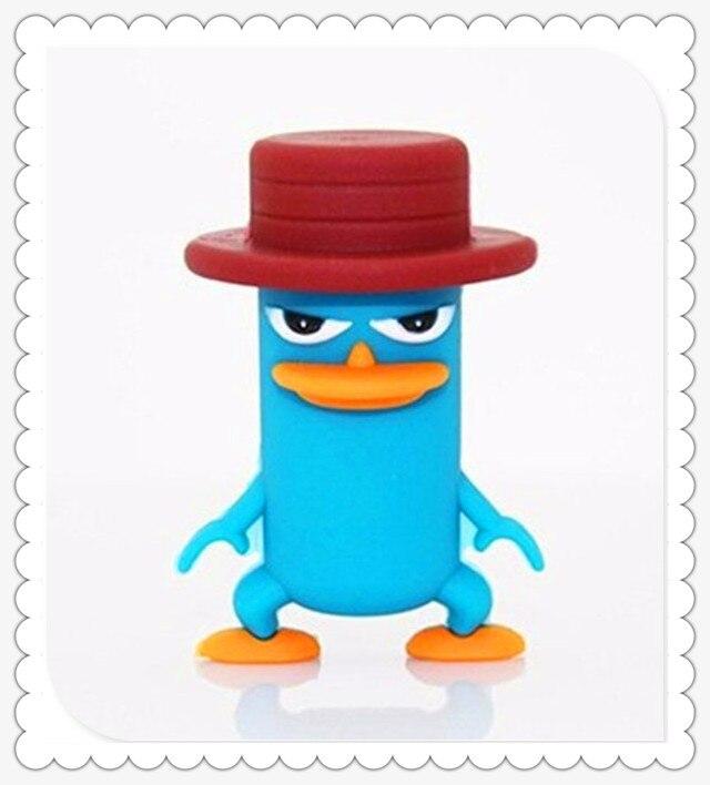 high quality Duck USB 2.0 usb flash drives thumb pendrive u disk usb creativo memory stick 4GB 8GB 16GB 32GB 64GB S862
