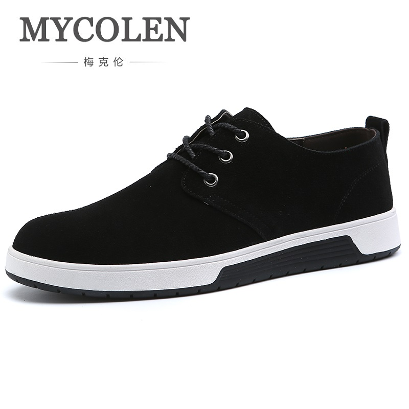 MYCOLEN Spring Summer Hot Sale Breathable Comfortable Casual Shoes Men Canvas Shoes For Men Lace-Up Trend Fashion Flat Shoes men casual shoes lace up mesh men outdoor comfortable shoes patchwork flat with breathable mountain shoes 259
