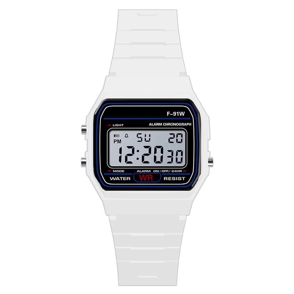 2019 New Fashion LED Digital Outdoor Sports Waterproof Quartz Wrist Watch Dress Golden Wrist Watch Women Men watch